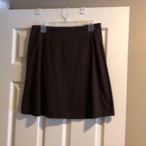 Brown Merona mini skirt